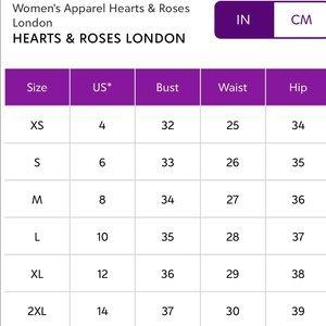 Hearts & Roses London Dresses - Black Scallop Dress White Tulle Large US 10